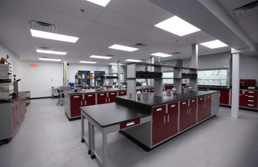Lab expansion and renovation